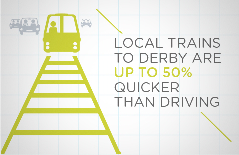 Local trains infographic