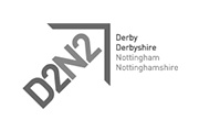D2N2 grayscale logo