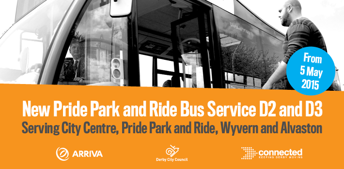 Pride Park and Ride Service