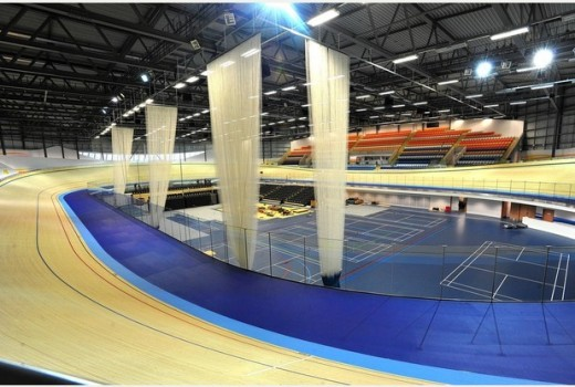 Derby Arena cycle track